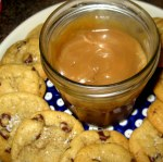 Salted Caramel Sauce and Browned Butter Chocolate Chip Cookies
