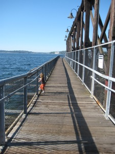 jack block park, seattle, wa, waterfront, pier