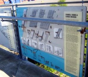 jack block park, seattle, wa, waterfront  signs