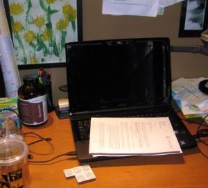 dissertation desk