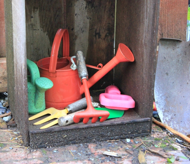 grow and resist may mid month meanderings child garden tools
