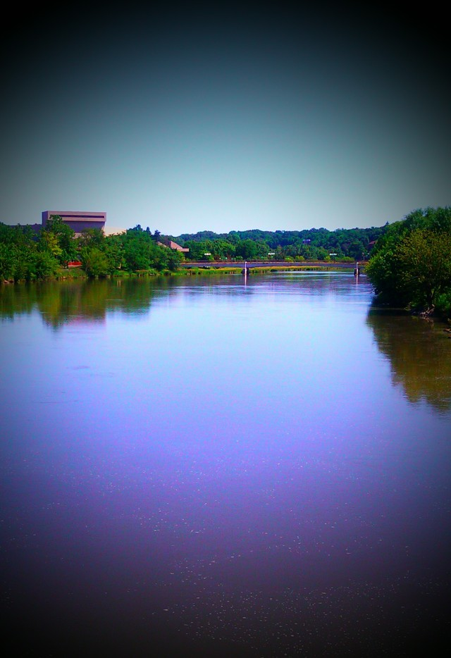 grow and resist Iowa City Iowa River