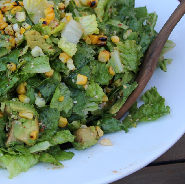 grow and resist for the love of salads corn and avocado
