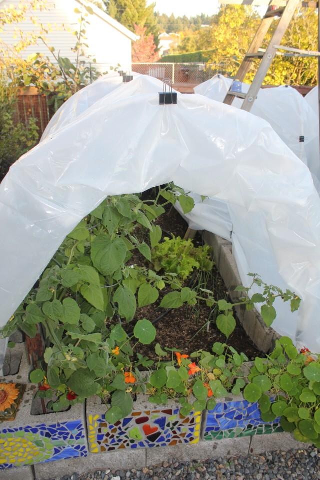 grow and resist hoop house season extension