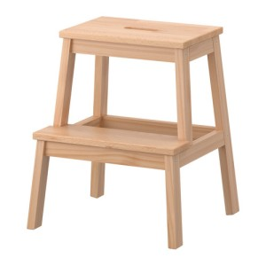 grow and resist IKEA hack bekvam step stool kids cooking