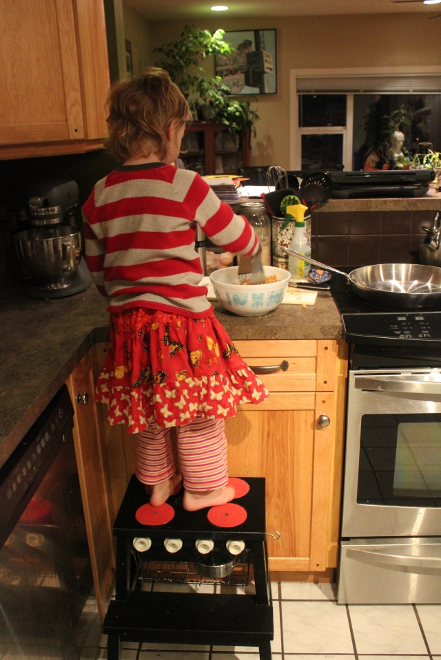 grow and resist bekvam ikea step stool hack kids cooking