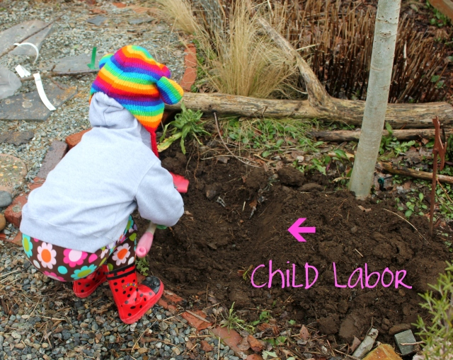 grow and resist mid month meanderings march children gardening