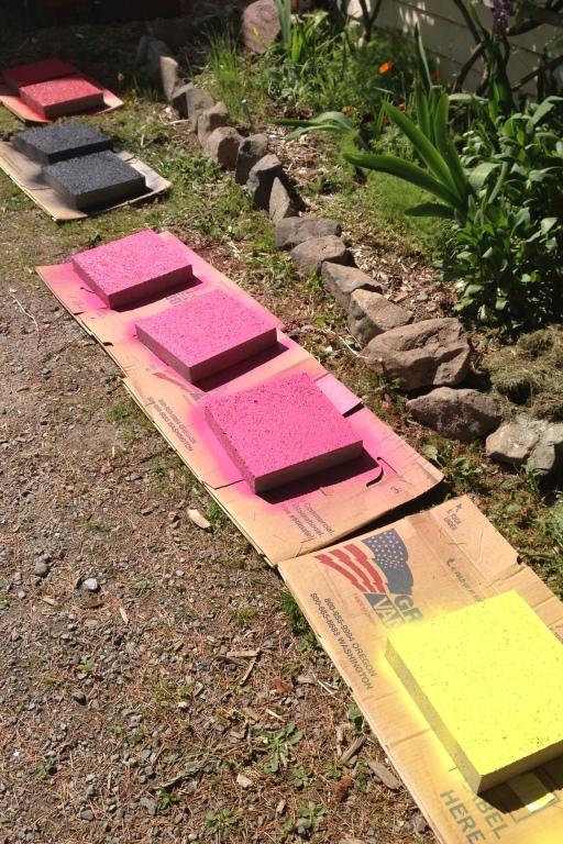 grow and resist paver outdoor hopscotch