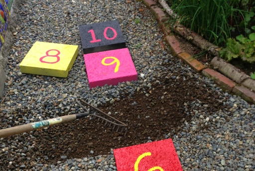 grow and resist paver outdoor hopscotch