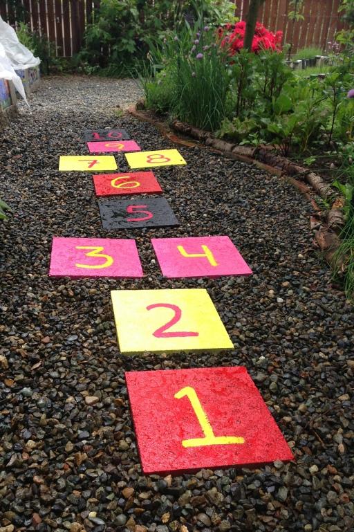 grow and resist hopscotch pavers